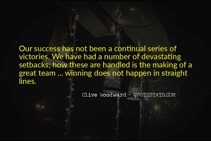 Clive Woodward Quotes #1768398