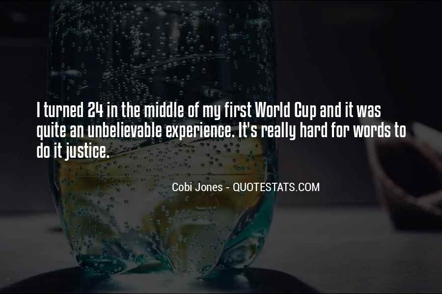 Cobi Jones Quotes #890985