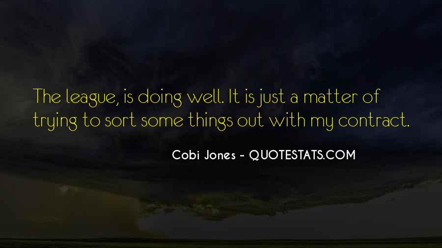 Cobi Jones Quotes #947082
