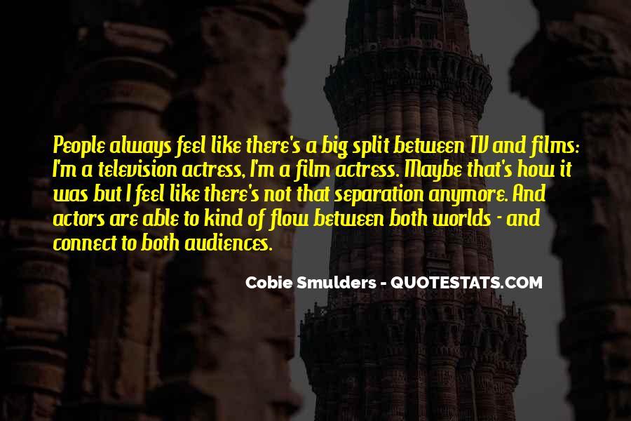 Cobie Smulders Quotes #1122641