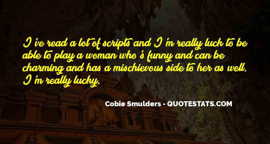 Cobie Smulders Quotes #1174019