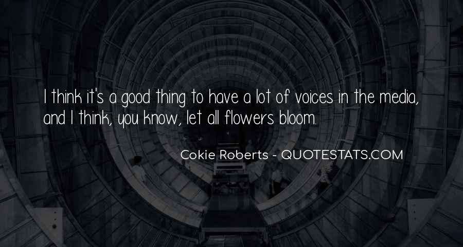Cokie Roberts Quotes #134636
