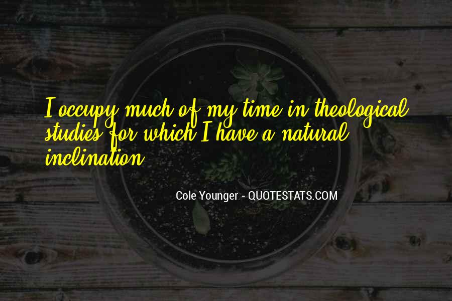 Cole Younger Quotes #1841679