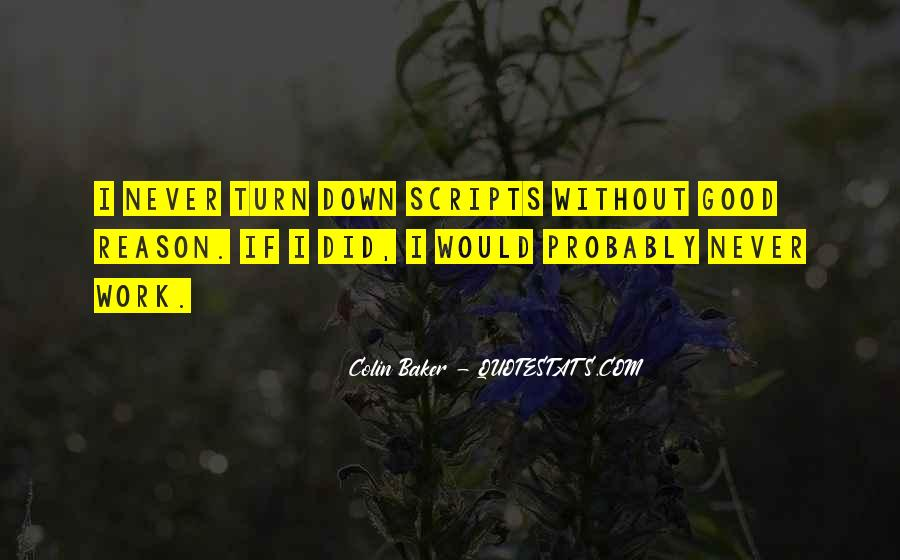 Colin Baker Quotes #1616175
