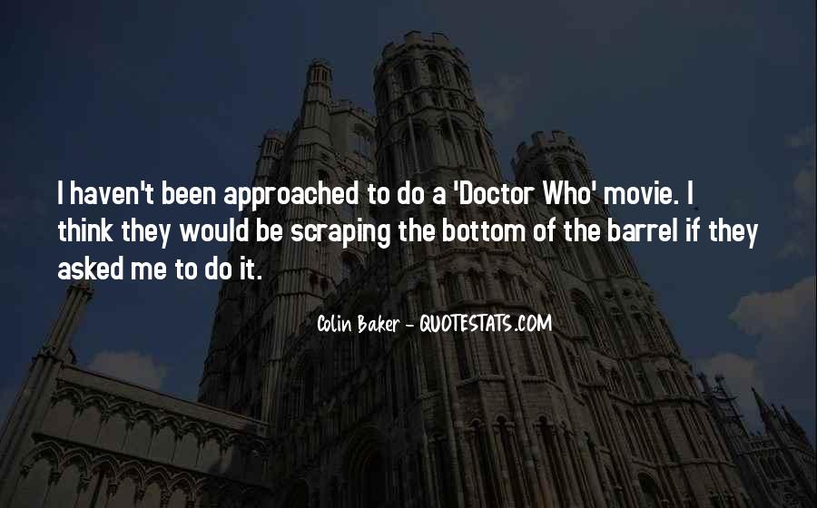Colin Baker Quotes #402254