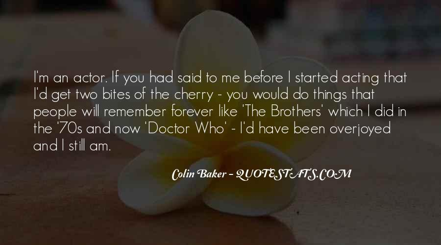 Colin Baker Quotes #938686