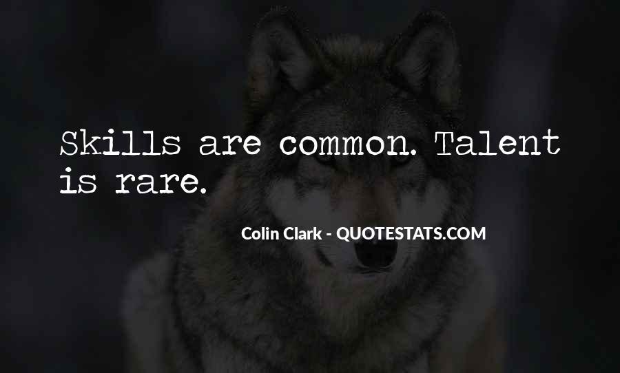 Colin Clark Quotes #1142459