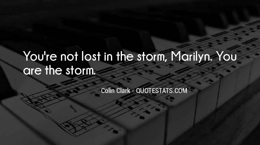 Colin Clark Quotes #814829