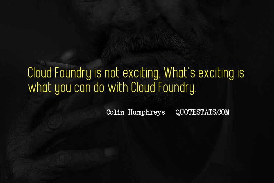 Colin Humphreys Quotes #1551081