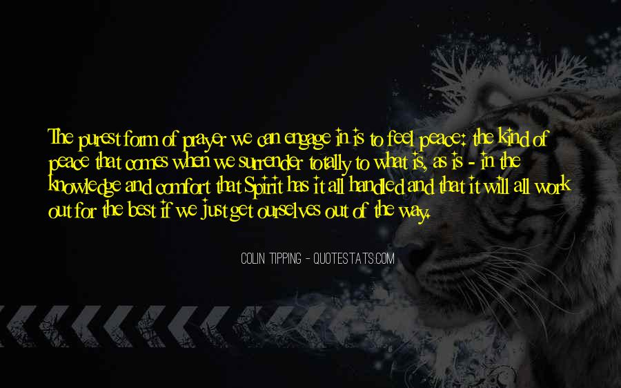 Colin Tipping Quotes #1054971