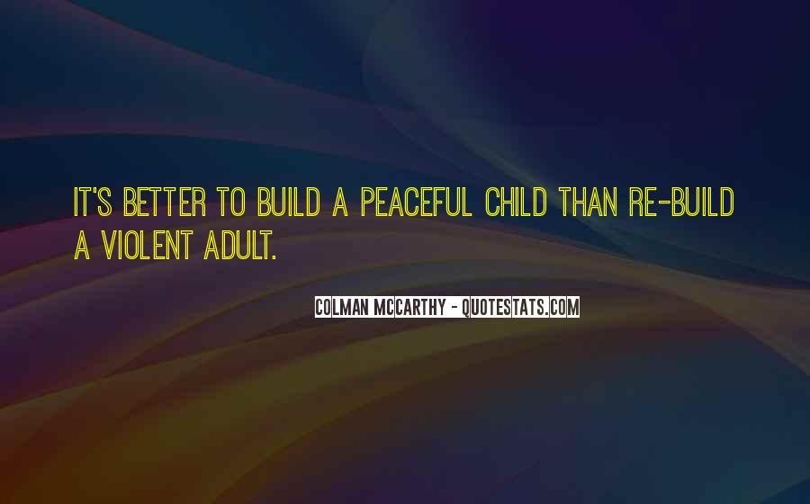 Colman McCarthy Quotes #1402085