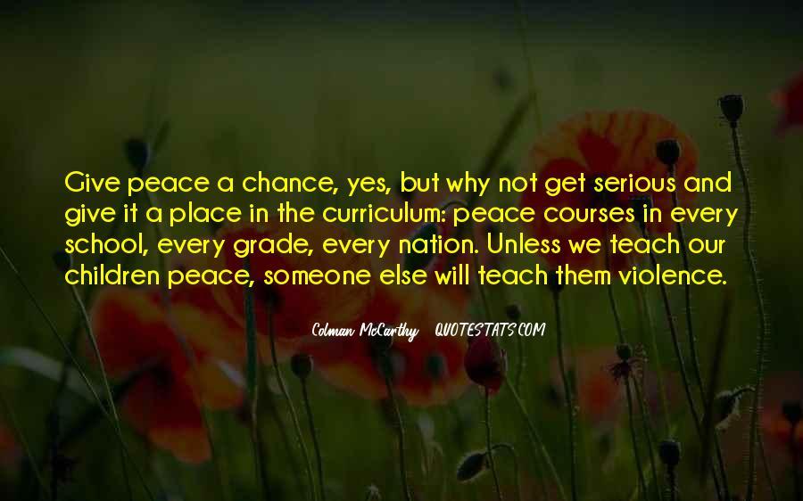 Colman McCarthy Quotes #332801