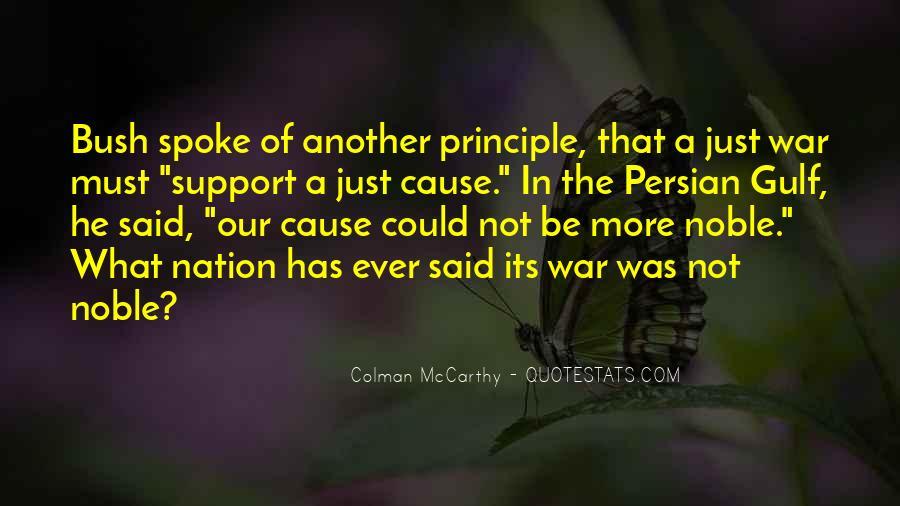 Colman McCarthy Quotes #837617