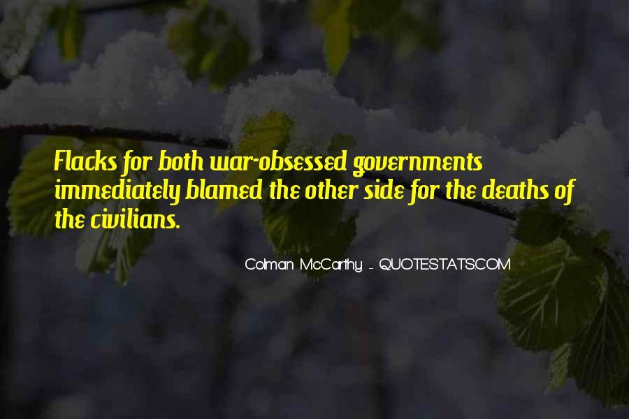 Colman McCarthy Quotes #952215