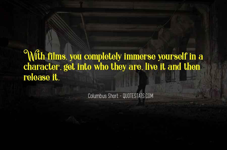 Columbus Short Quotes #1193001