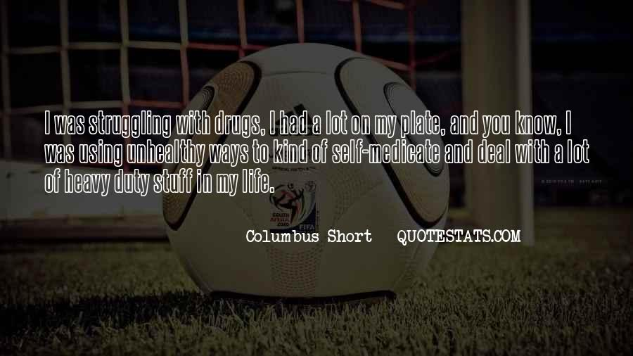 Columbus Short Quotes #1443526
