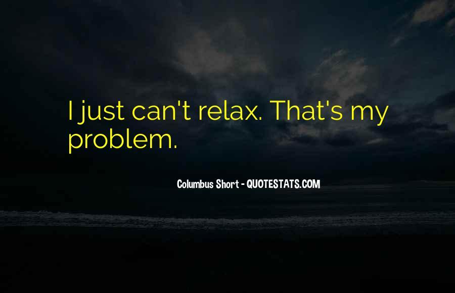 Columbus Short Quotes #1472471