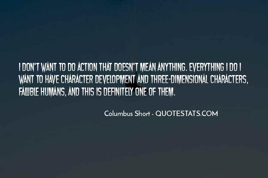 Columbus Short Quotes #1649412