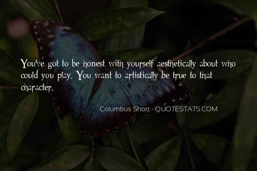 Columbus Short Quotes #1735726