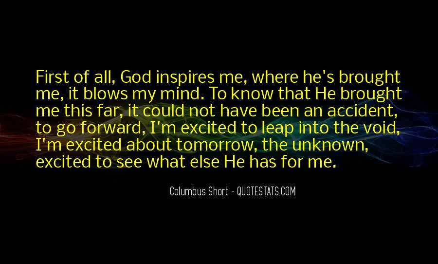 Columbus Short Quotes #307047