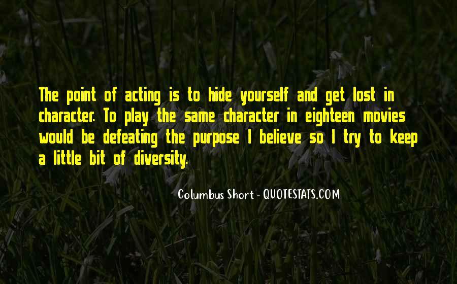 Columbus Short Quotes #529405
