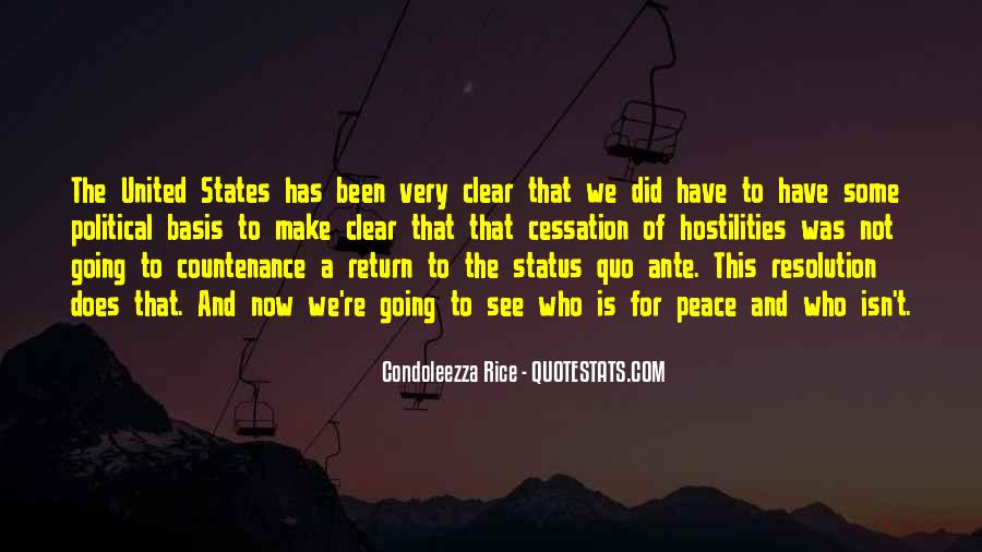 Condoleezza Rice Quotes #1259477