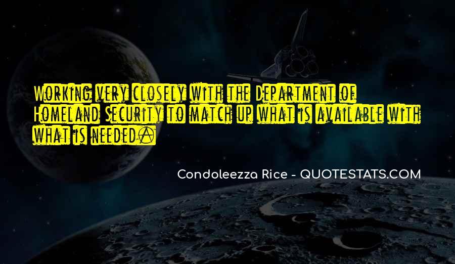 Condoleezza Rice Quotes #1479283