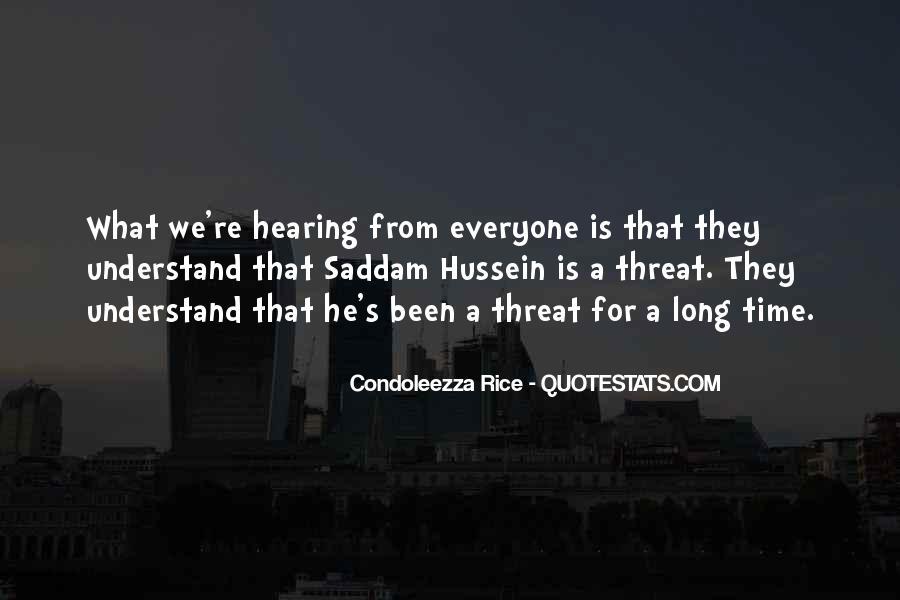 Condoleezza Rice Quotes #687466