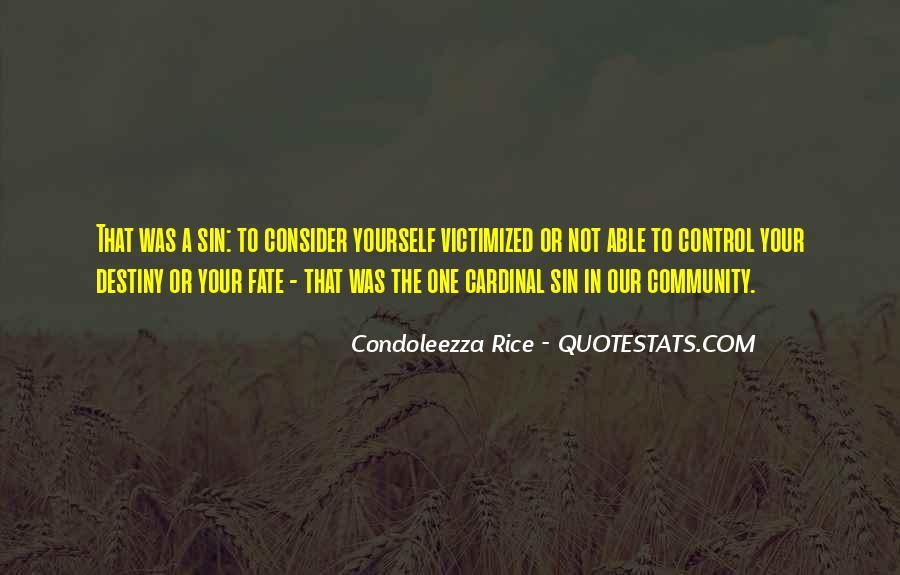 Condoleezza Rice Quotes #783351