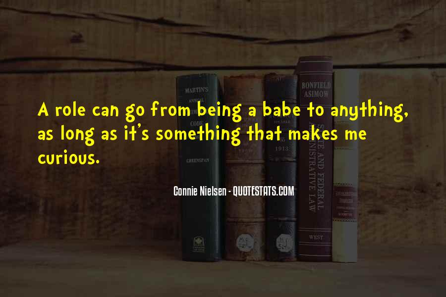 Connie Nielsen Quotes #1436730