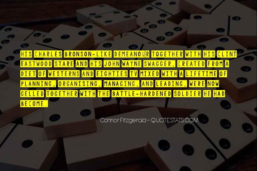 Connor Fitzgerald Quotes #218761