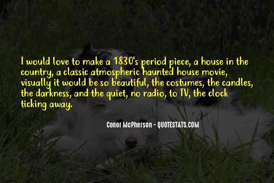 Conor McPherson Quotes #368154