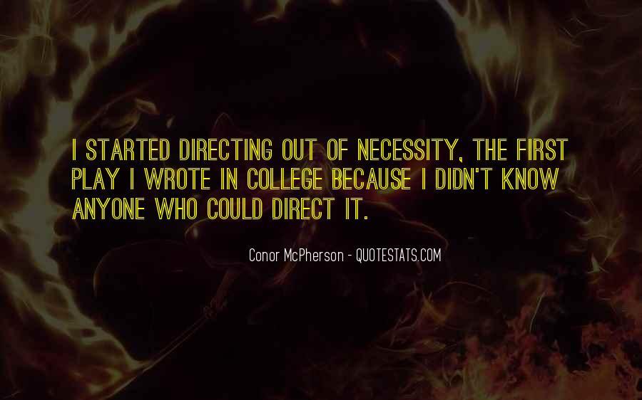 Conor McPherson Quotes #45720
