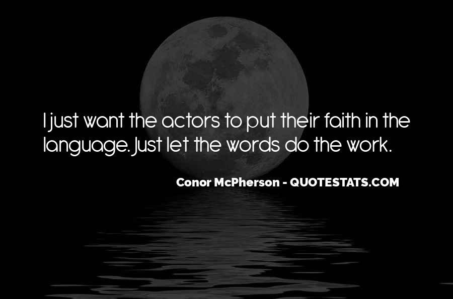 Conor McPherson Quotes #527153