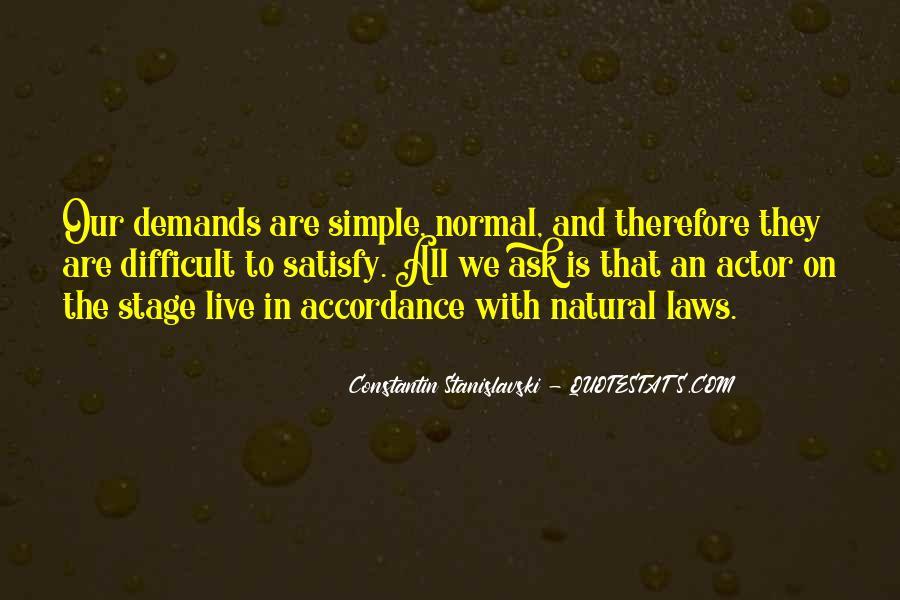Constantin Stanislavski Quotes #1114346