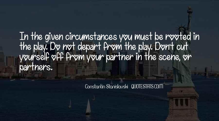 Constantin Stanislavski Quotes #1227943