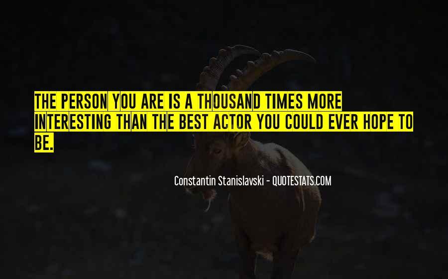 Constantin Stanislavski Quotes #123478
