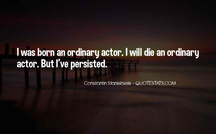 Constantin Stanislavski Quotes #1585839