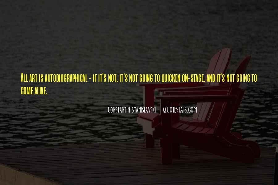 Constantin Stanislavski Quotes #371366