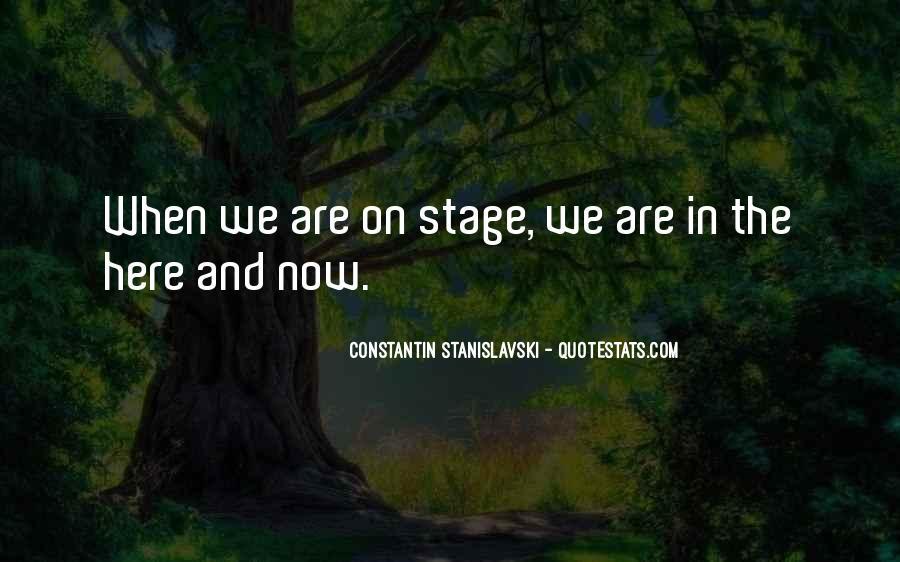Constantin Stanislavski Quotes #594797