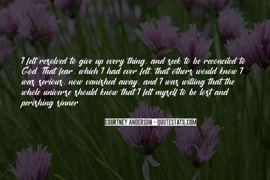 Courtney Anderson Quotes #1819956