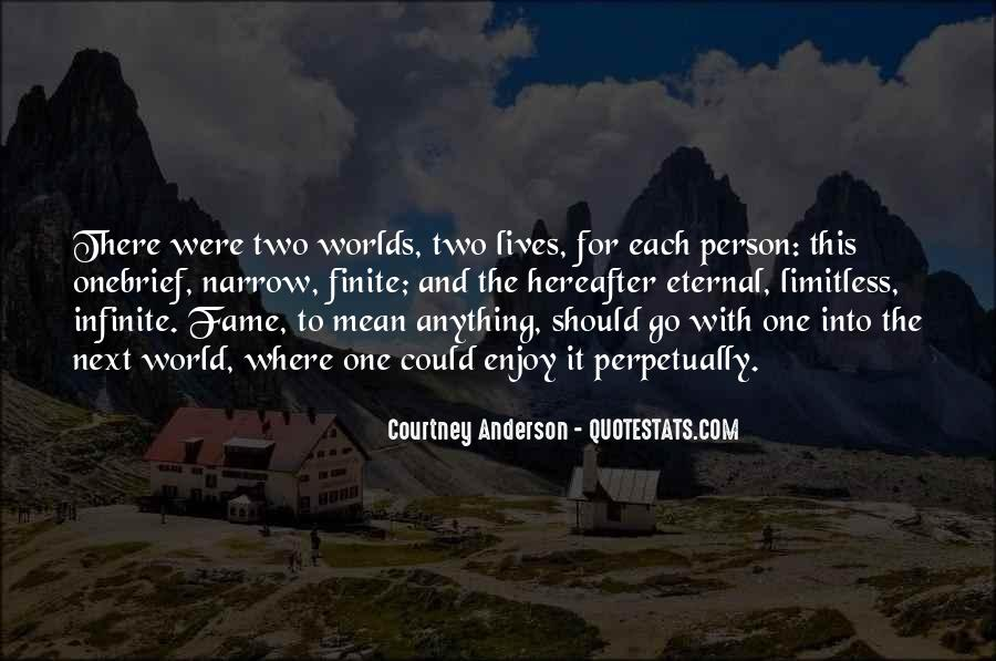 Courtney Anderson Quotes #809708