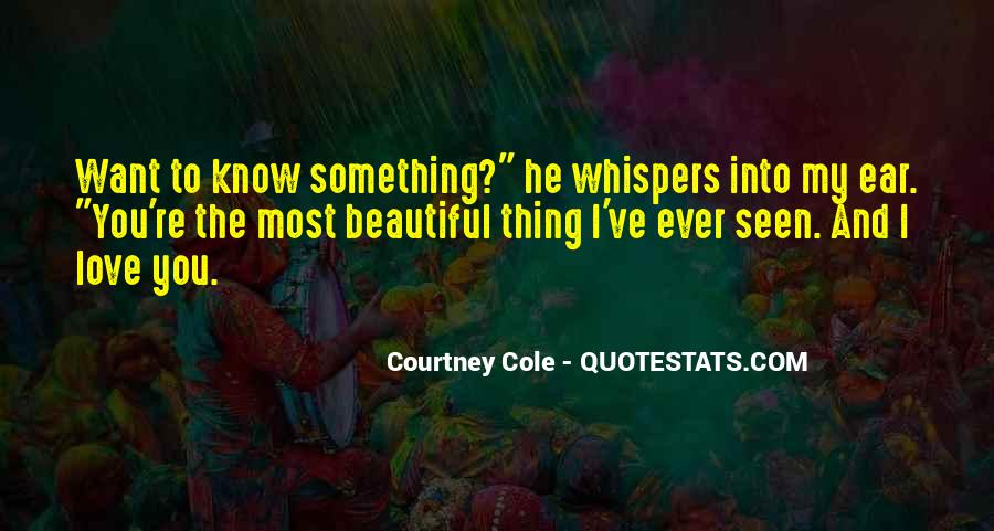 Courtney Cole Quotes #1052180