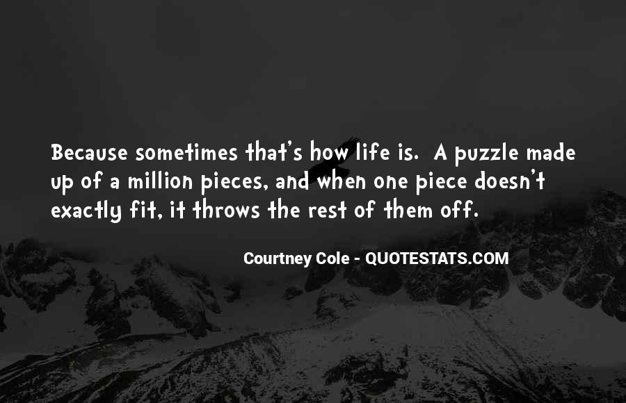 Courtney Cole Quotes #44837