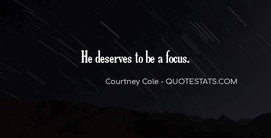 Courtney Cole Quotes #973573