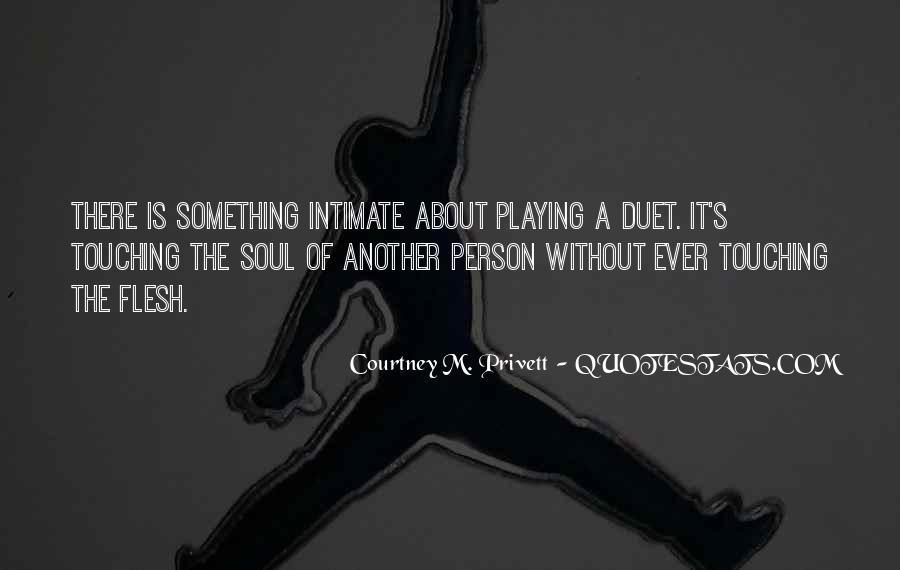 Courtney M. Privett Quotes #1062541