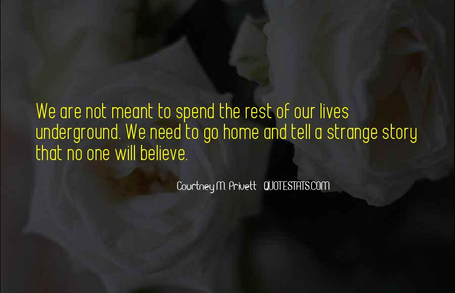 Courtney M. Privett Quotes #1195658