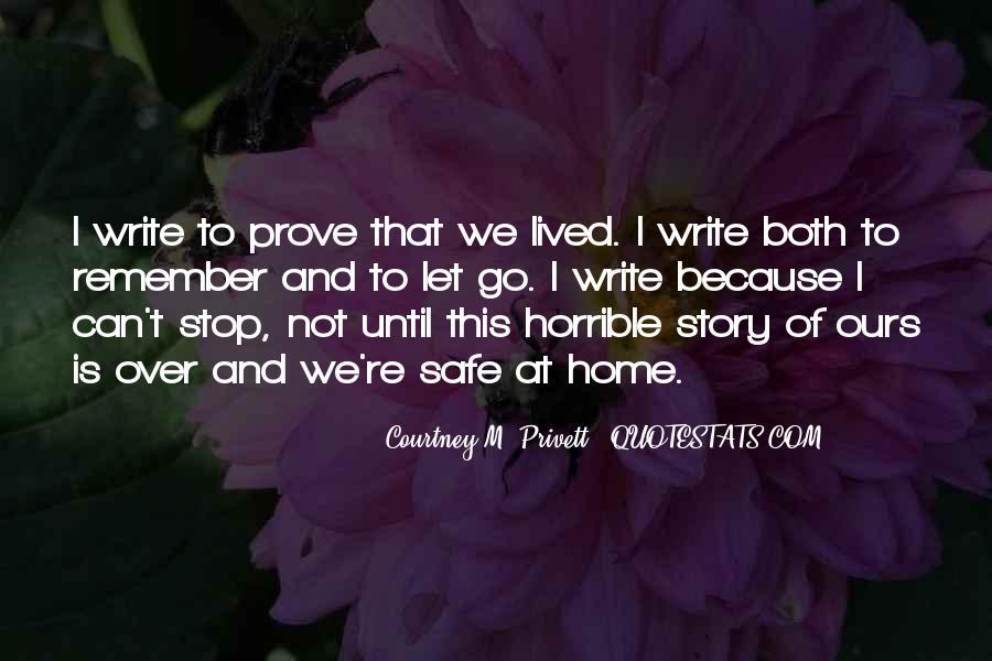 Courtney M. Privett Quotes #797137