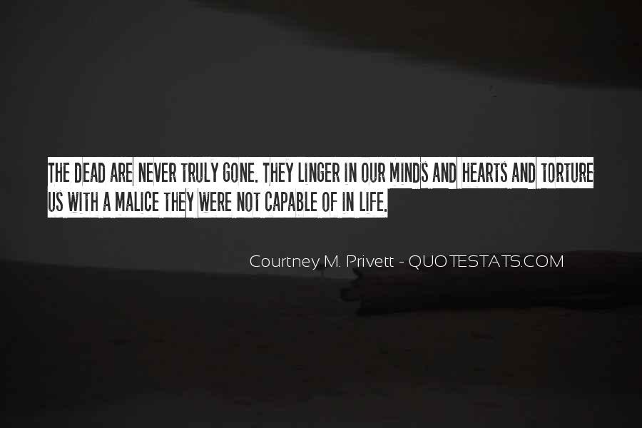 Courtney M. Privett Quotes #980443