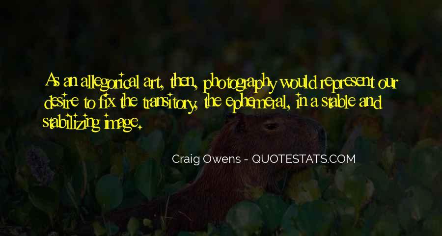Craig Owens Quotes #126105